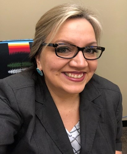 Photo of Julie Jefferson, Communications Director of the Lummi Indian Business Council